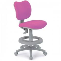 Кресло для школьника KIDS CHAIR (Розовый, Серый)