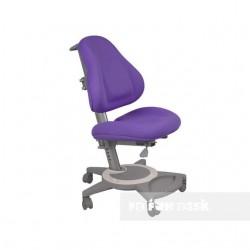 Подростковое кресло для дома FunDesk Bravo (Фиолетовый, Серый)