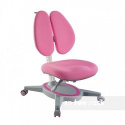 Ортопедическое детское кресло FunDesk Primavera II (Розовый, Серый)