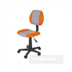 Детское компьютерное кресло FunDesk LST4 (Оранжевый, Черный)