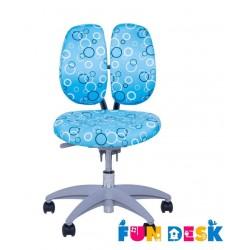 Детское кресло FunDesk SST9 (Голубой, Серый)