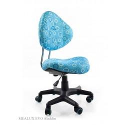 Компьютерное кресло для школьника Mealux Aladin (Голубой, Черный)