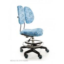 Детское кресло Mealux Simba (Голубой, Серебро)