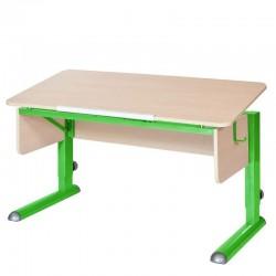 Парта для школьника для дома МОНО-2 (Береза, Зеленый)
