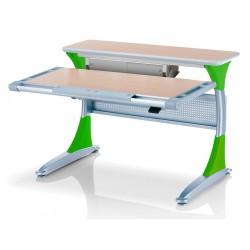 Ученический стол Гарвард с ящиком (Клен, Зеленый)