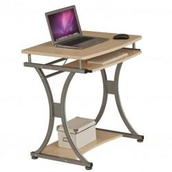 Компьютерный стол Rifforma S-328 Cherry (Светлая вишня, Серебро)