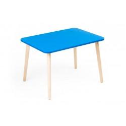 Детский столик Джери голубой (Голубой, Береза)